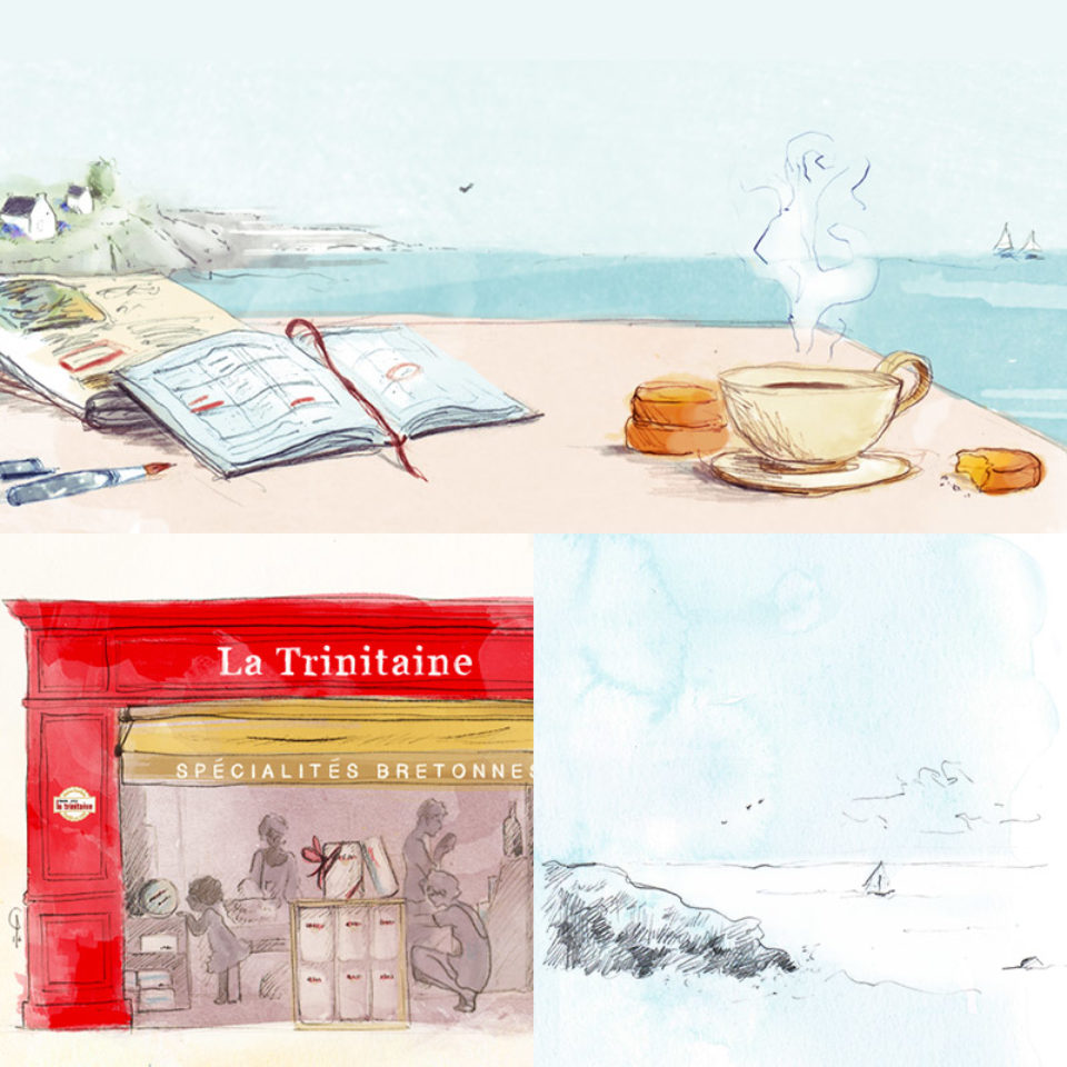 Illustrations diverses pour La Trinitaine